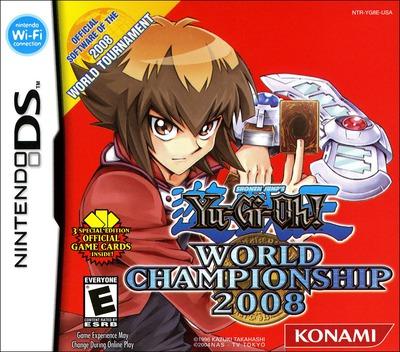 Yu-Gi-Oh! - World Championship 2008 DS coverM (YG8E)