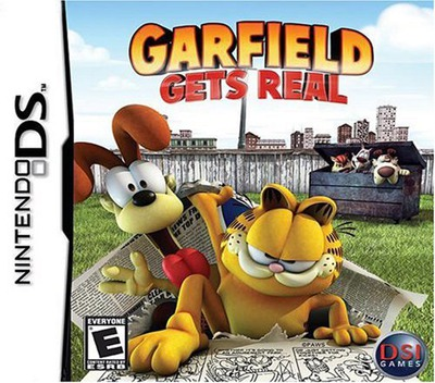 Garfield Gets Real DS coverM (YGFE)