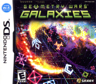 Geometry Wars - Galaxies DS coverM (YGLE)