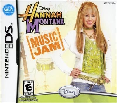 Hannah Montana - Music Jam DS coverM (YH2E)