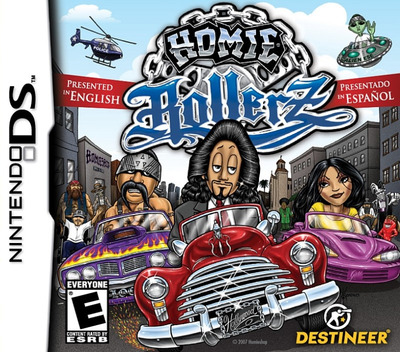 Homie Rollerz DS coverM (YHRE)
