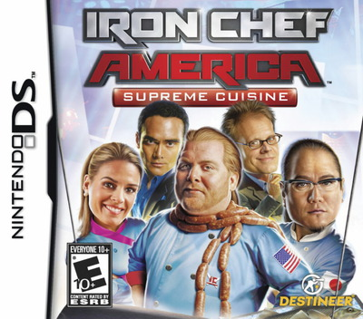Iron Chef America - Supreme Cuisine DS coverM (YIAE)