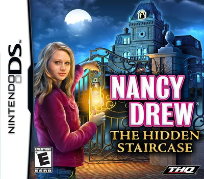 Nancy Drew - The Hidden Staircase DS coverM (YIRE)