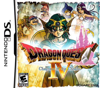 Dragon Quest IV - Chapters of the Chosen DS coverM (YIVE)