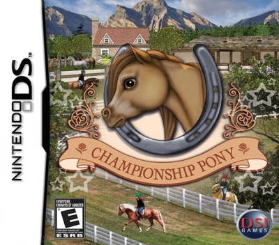 Championship Pony DS coverM (YIYE)
