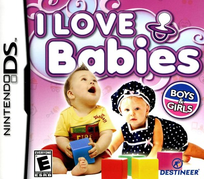 I Love Babies DS coverM (YJLE)
