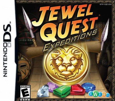 Jewel Quest - Expeditions DS coverM (YJQE)