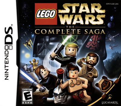 LEGO Star Wars - The Complete Saga DS coverM (YLGE)