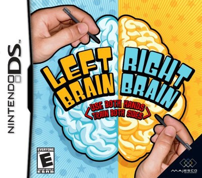 Left Brain, Right Brain - Use Both Hands, Train Both Sides DS coverM (YLRE)