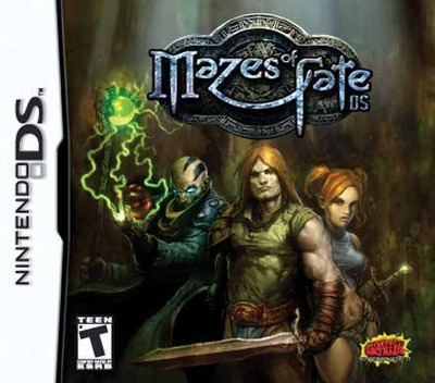 Mazes of Fate DS DS coverM (YMFE)