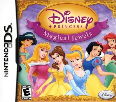 Disney Princess - Magical Jewels DS coverM (YMJE)