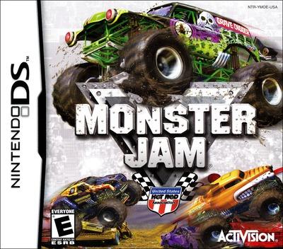 Monster Jam DS coverM (YMOE)