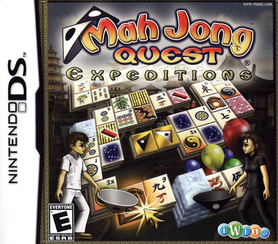 Mah Jong Quest - Expeditions DS coverM (YMXE)