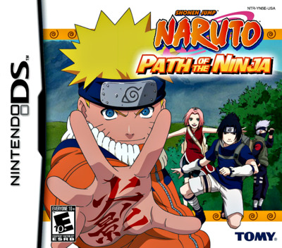 Naruto - Path of the Ninja DS coverM (YN5E)