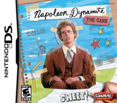 Napoleon Dynamite - The Game DS coverM (YNDE)