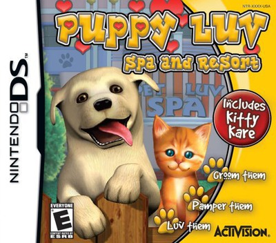 Puppy Luv - Spa and Resort DS coverM (YPLE)