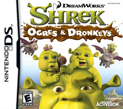 Shrek - Ogres & Dronkeys DS coverM (YQ3E)
