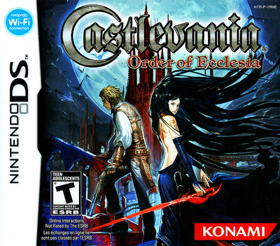 Castlevania - Order of Ecclesia DS coverM (YR9E)