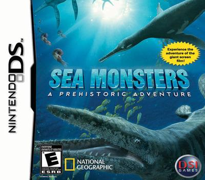 Sea Monsters - A Prehistoric Adventure DS coverM (YS3E)