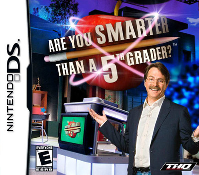 Are You Smarter than a 5th Grader DS coverM (YS5E)
