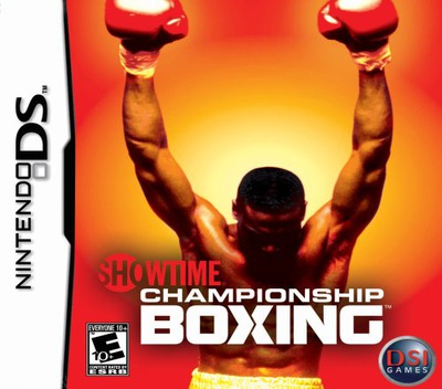 Showtime Championship Boxing DS coverM (YSYE)