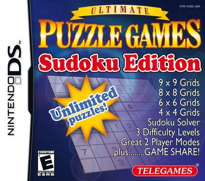Ultimate Puzzle Games - Sudoku Edition DS coverM (YUSE)