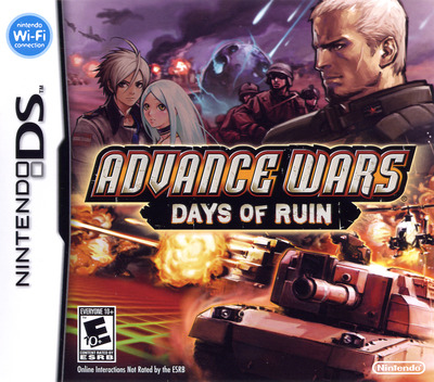 Advance Wars - Days of Ruin DS coverM (YW2E)
