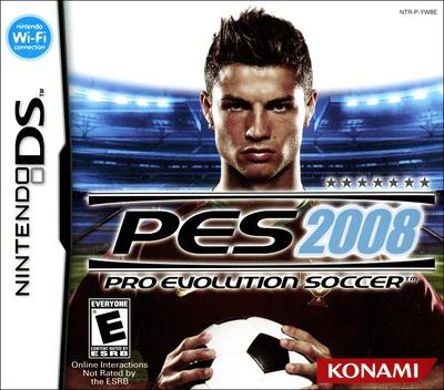 Pro Evolution Soccer 2008 DS coverM (YW8E)