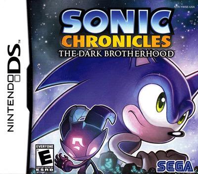 Sonic Chronicles - The Dark Brotherhood DS coverM (YWSE)
