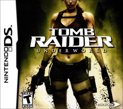 Tomb Raider - Underworld DS coverM (YX8E)