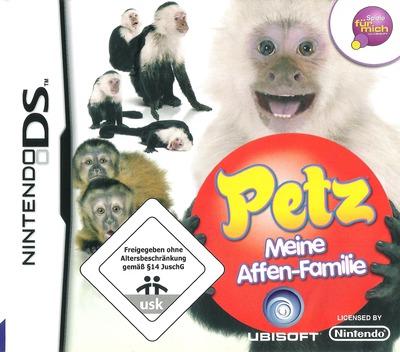 Petz - Meine Affen-Fanilie DS coverM2 (CM8P)