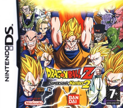 Dragon Ball Z - Supersonic Warriors 2 DS coverM2 (ADBP)