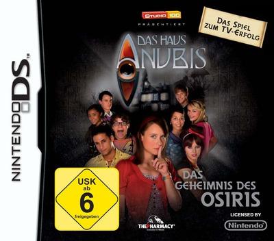 Das Haus Anubis - Das Geheimnis des Osiris DS coverM2 (BHCD)