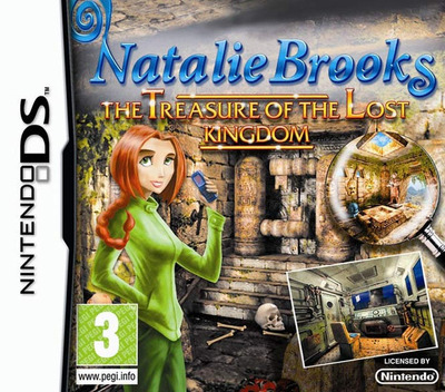 Natalie Brooks - Treasures of the Lost Kingdom DS coverM2 (BNPP)