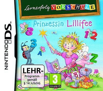 Lernerfolg Vorschule - Prinzessin Lillifee DS coverM2 (BVRD)