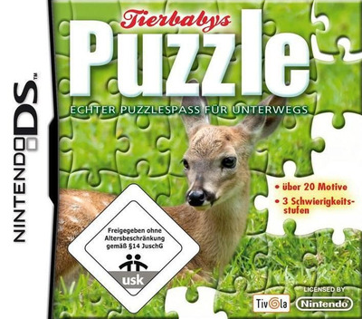 Puzzle - Baby Animals DS coverM2 (C72P)