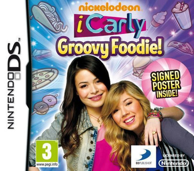 iCarly - Groovy Foodie! DS coverM2 (TCLP)