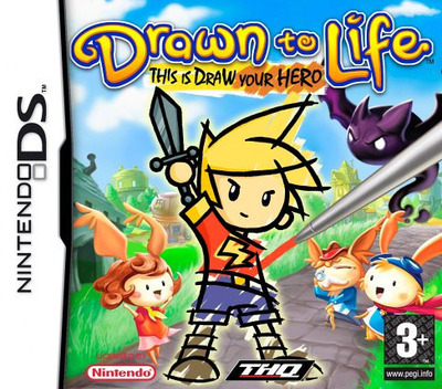 Drawn to Life DS coverM2 (YDWP)