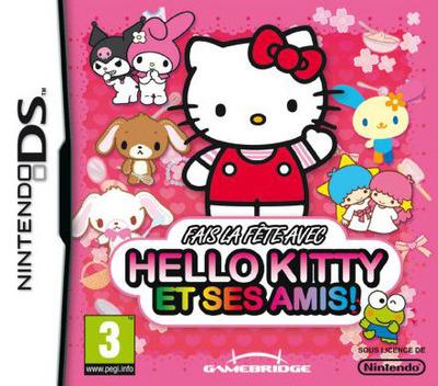Fais la fête avec Hello Kitty et ses Amis! DS coverM2 (YW3P)