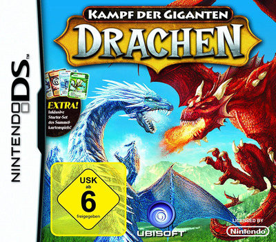 Kampf der Giganten - Drachen DS coverMB (C7UP)