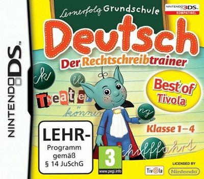 Lernerfolg Grundschule - Deutsch - Der Rechtschreibtrainer DS coverMB (BD8X)