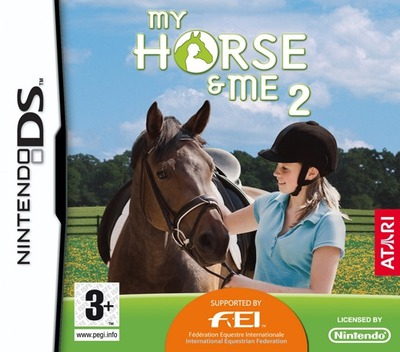 My Horse & Me 2 DS coverMB (CXHP)