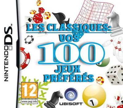 Les Classiques - Vos 100 Jeux Préférés DS coverMB (BOZP)