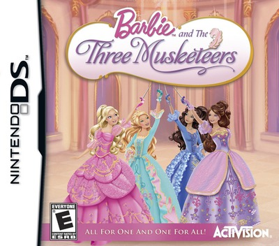 Barbie and the Three Musketeers DS coverMB (BB3E)