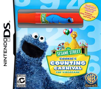 Sesame Street - Cookie's Counting Carnival - The Videogame DS coverMB (BSRE)
