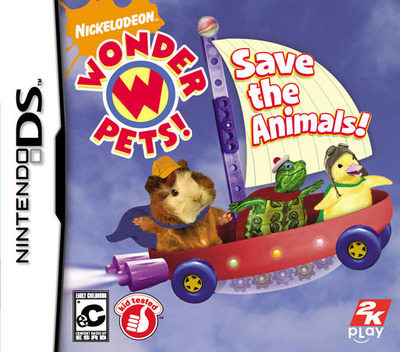 Wonder Pets! - Save the Animals! DS coverMB (CWAE)