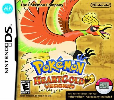 Pokémon - HeartGold Version DS coverMB (IPKE)