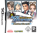 Phoenix Wright - Ace Attorney - Justice for All DS coverS (A2GP)