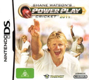 Shane Watson's Power Play Cricket 2011 DS coverS (BCEU)