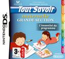 Tout Savoir Maternelle Grande Section - L'Essentiel du Programme DS coverS (C5XF)